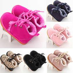 Emmababy для маленьких девочек и мальчиков, теплые ботинки на шнуровке с забавными принтами; Одежда для новорожденных; для детей, на мягкой