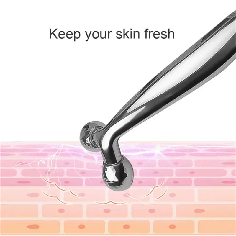 3D Roller Massager 360 Rotate Thin Face Full Body Shape Massager Lifting Wrinkle Remover Facial Massage Tool Y Shape Massager (5)