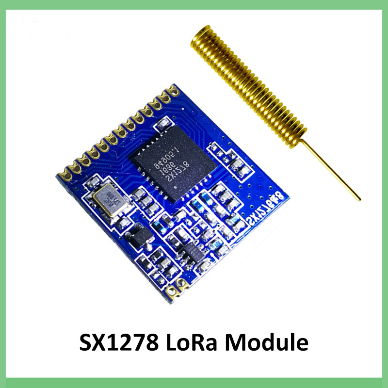 433mhz RF LoRa Module SX1278 PM1280 Long-Distance Communication Receiver And Transmitter SPI LORA  IOT+ 433MHz Antenna