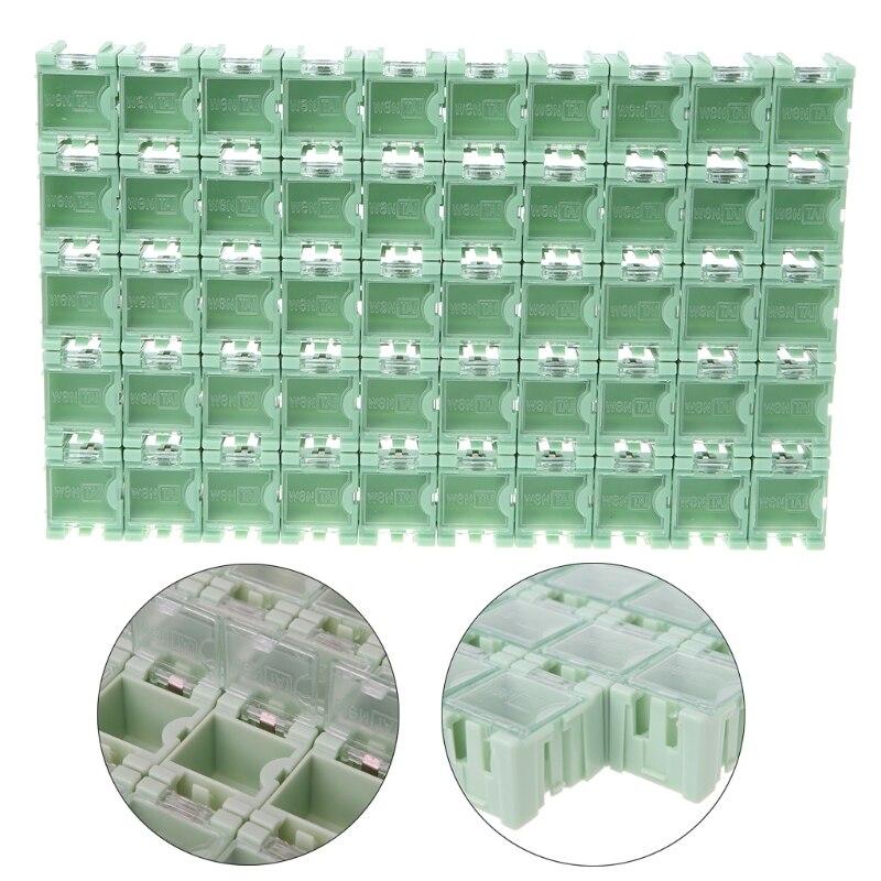 50-pcs-set-smd-smt-electronic-component-container-mini-storage-boxes-kit