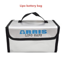 192g weight LIPO Bag Battery Safe Safety Bag Fireproof Explosion-proof Battery Storage Bag for RC Racing Drone Multicopter