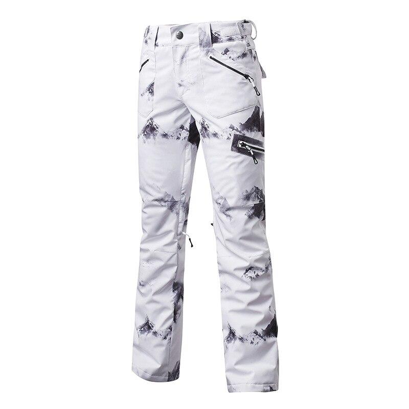 Fashion Colorful GS Womens Snow Pants Winter Outdoor Sportswear Specialty Snowboarding Wear 10k Waterproof Windproof Breathable Ski Pant Winter Snow Trousers