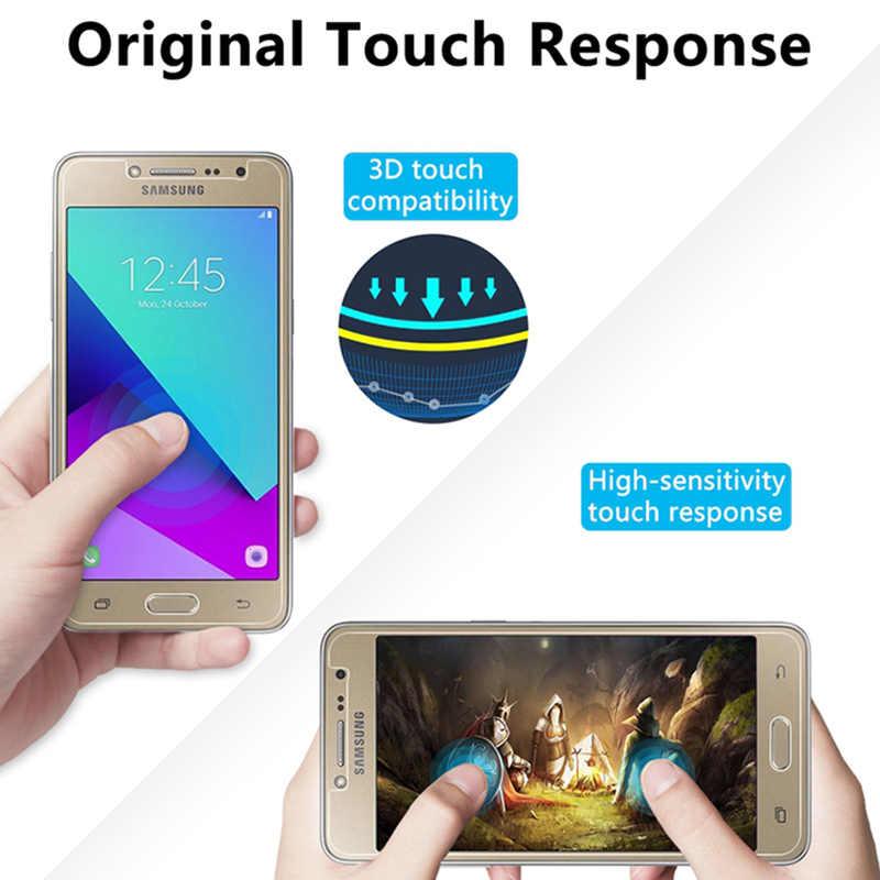 2 pcs! מזג זכוכית מגן זכוכית עבור Samsung J2 פרו 2018 J1 Ace Nxt Toughed 9H HD מסך מגן על גלקסי j1 מיני ראש