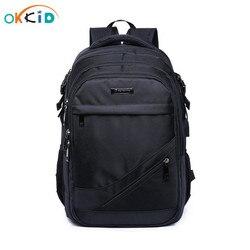 Mochilas escolares para niños 15,6 mochila para ordenador portátil de 17 pulgadas mochila para niños mochila escolar para niños mochila negra de nailon