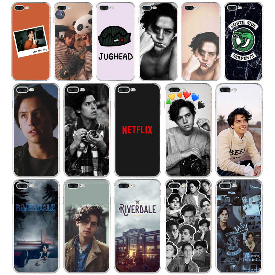 351FG American TV Riverdale Series Cole SprouseSoft TPU Silicone Cover Case For Apple iPhone5 5s se 6 6s 7 8 plus x xr xs max