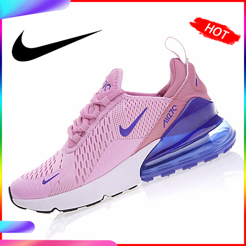 US $50.0 50% OFF|Nike Air Max 270 Women's Breathable Running Shoes Sneakers Sport Outdoor Athletic 2018 New Women Designer Sneakers AH8050 in Running