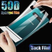 Гидрогелевая пленка 50D для Samsung Galaxy S10 S9 S8 Plus, защитная пленка для экрана S20 Plus Ultra Note 10 S 10 E 20 9 8, не стекло