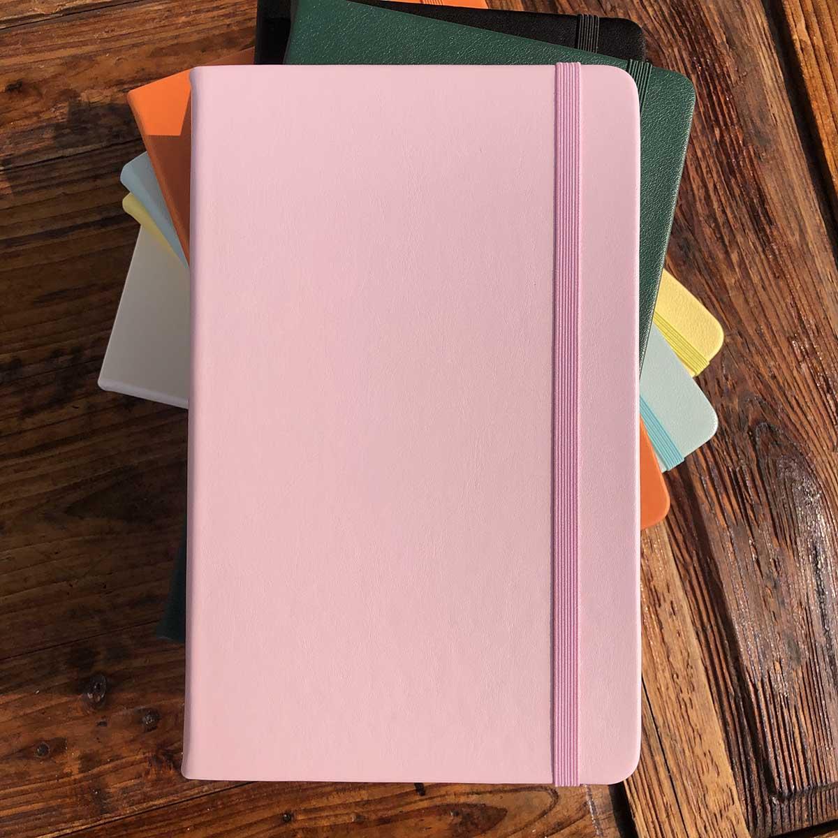 PU Leather Notebook Art Sketchbook Dot Grid Journals 100gsm Paper 192pages