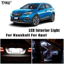 Voor Vauxhall Opel Insignia Een Astra H J K Vectra C Mokka X Corsa C D E Grandland X Adam voertuig Led Binnenverlichting Canbus