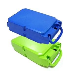 Image 1 - E bike Lithium batterie fall Für 18650 batterie pack Enthält halter und reinem nickel Können platziert werden 104 stück zellen