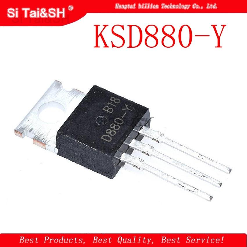 1pcs/lot KSD880-Y KSD880 D880-Y D880 TO-220 3A 60V
