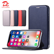 Leather Flip Magnetic Case For Xiaomi Redmi 5 Plus 5A 6 6A 7 7A 8 8A 9 9A 9C Note 5 7 8 9 Pro Max 4 4X 9S 8T Wallet Stand Cover