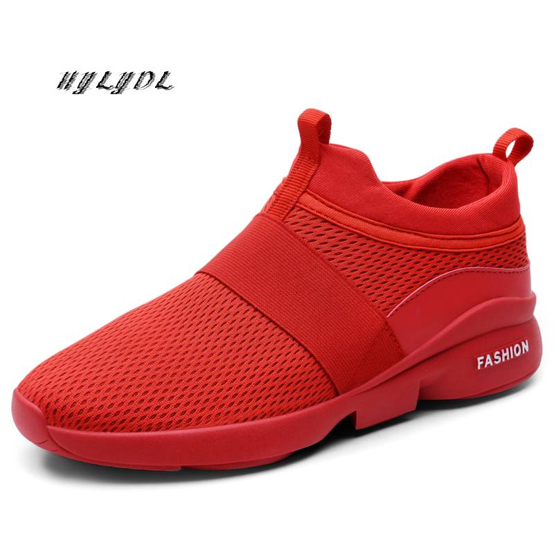 Men Shoes Casual Lightweight Breathable Loafers Couple Slip On Footwear Fashion Zapatos Plus Size 36-48 New Arrival Autumn 2019