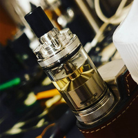 Millennium RTA Atomizer 4ml capacity 316 stainless steel 22mm RTA Airflow Control tank 3 bell 2 hole Atomizer For 510 Thread Mod
