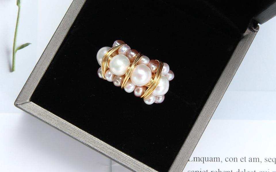 Pearl rings (10)
