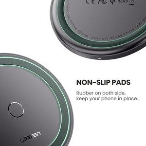 Image 5 - Ugreen bezprzewodowa ładowarka samochodowa do iPhone 11 X Xs Plus 10W Qi szybka bezprzewodowa podstawka ładująca dla Samsung S10