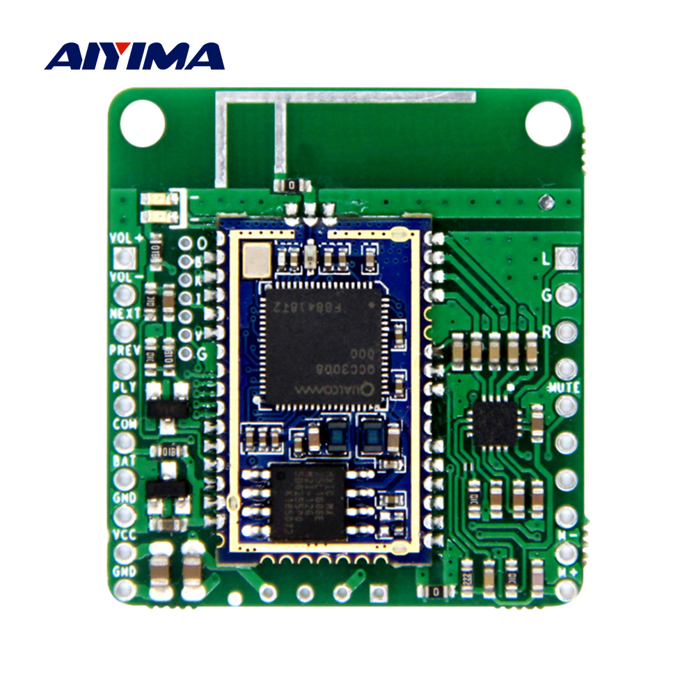 AIYIMA DC5V 12V QCC3008 Bluetooth Audio Module HiFi Bluetooth 5.0 Receiver APTX LL TWS DIY Speaker Amplifier Home Theater
