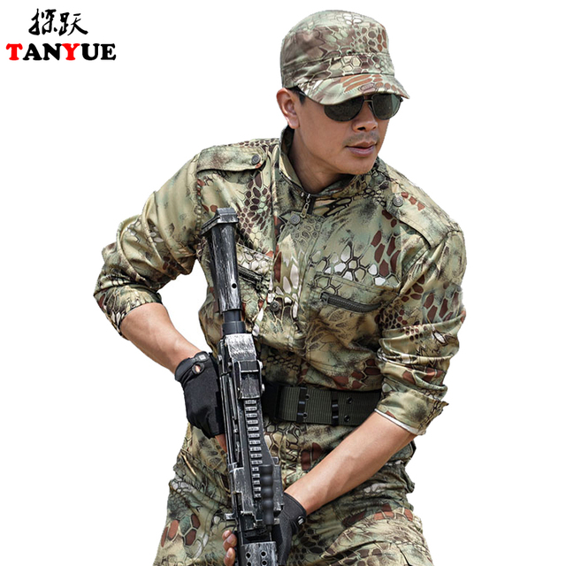 Uniforme Militar Multicam Camouflage Tactical Suit Fishing Hunting Clothes Men Women Ropa Caza Combat Airsoft Camo Ghillie Suit 1