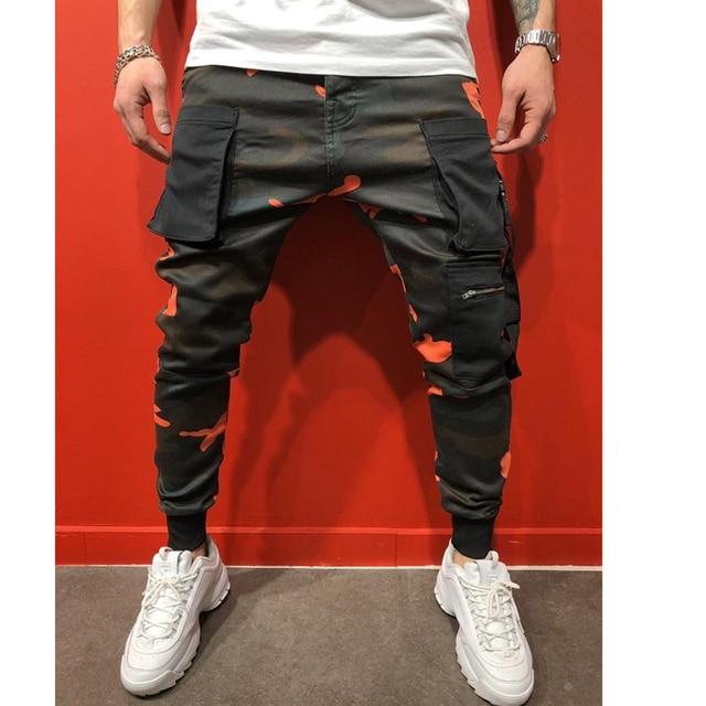 Streetwear Pantaloni Uomini Sport Leggings Fitness 1
