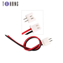 10PCS Pitch 2.54mm Wire Cable Connector XH2.54 2 Pin XH Plug Male & Female Battery Charging Cable Length 200MM 26AWG