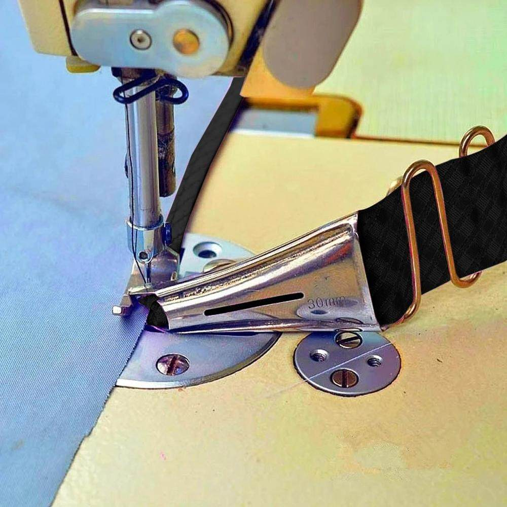 Stainless Industrial Zipper Presser Foot P363 For Brother Juki Sewing Machine-KT