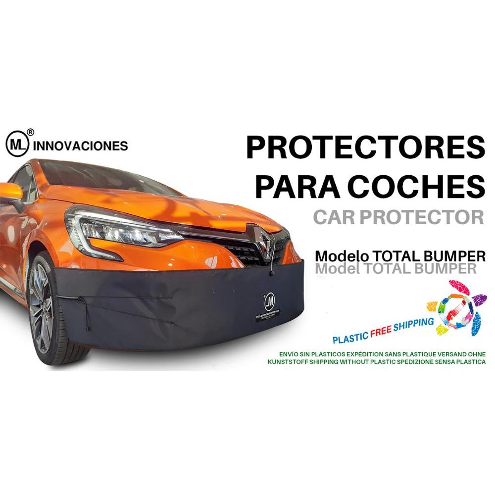 TOTAL Car BUMPER Protector BUMPER Trunk To Nose Section Or Front. Universal Portable And Removable ML INNOVATIONS
