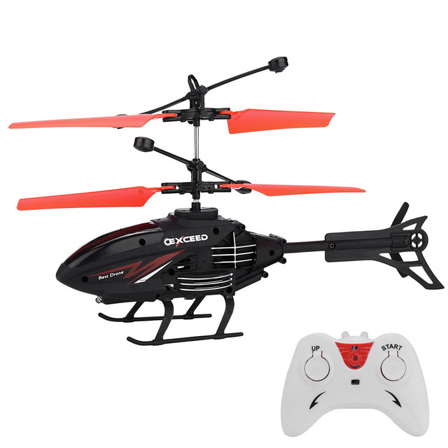 Mini RC Helicopter Infrared Induction Remote Control RC Toys for Kids 2CH Gyro Helicopter RC Drone Toy zabawki Age 3 Years 2