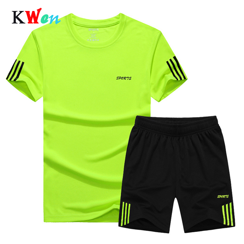 Summer New Men's Shorts Casual Suit Sportswear Tracksuit Men Sets Pants Male Sweatshirt Men Brand Clothing Plus Size 7XL 8XL 9XL