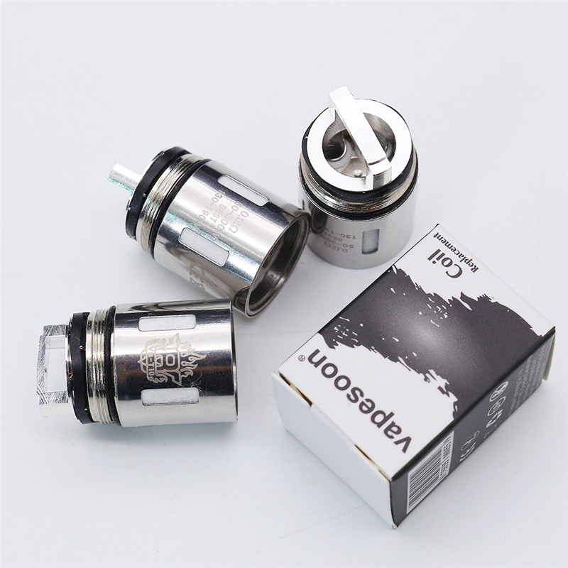 Vapesoon Replacement Coils V8 Coil Head V8-Q4 V8-T6 V8-T10 V8-T8 RBA RDA Tank For V8 Tank Atomizer