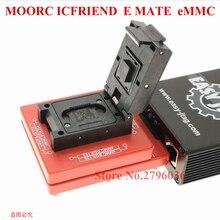MOORC E MATE X EMMC EMATE BGA 13 en 1 para riff jtag fácil plus ufi medusa pro y emmc atf box, última versión de alta velocidad