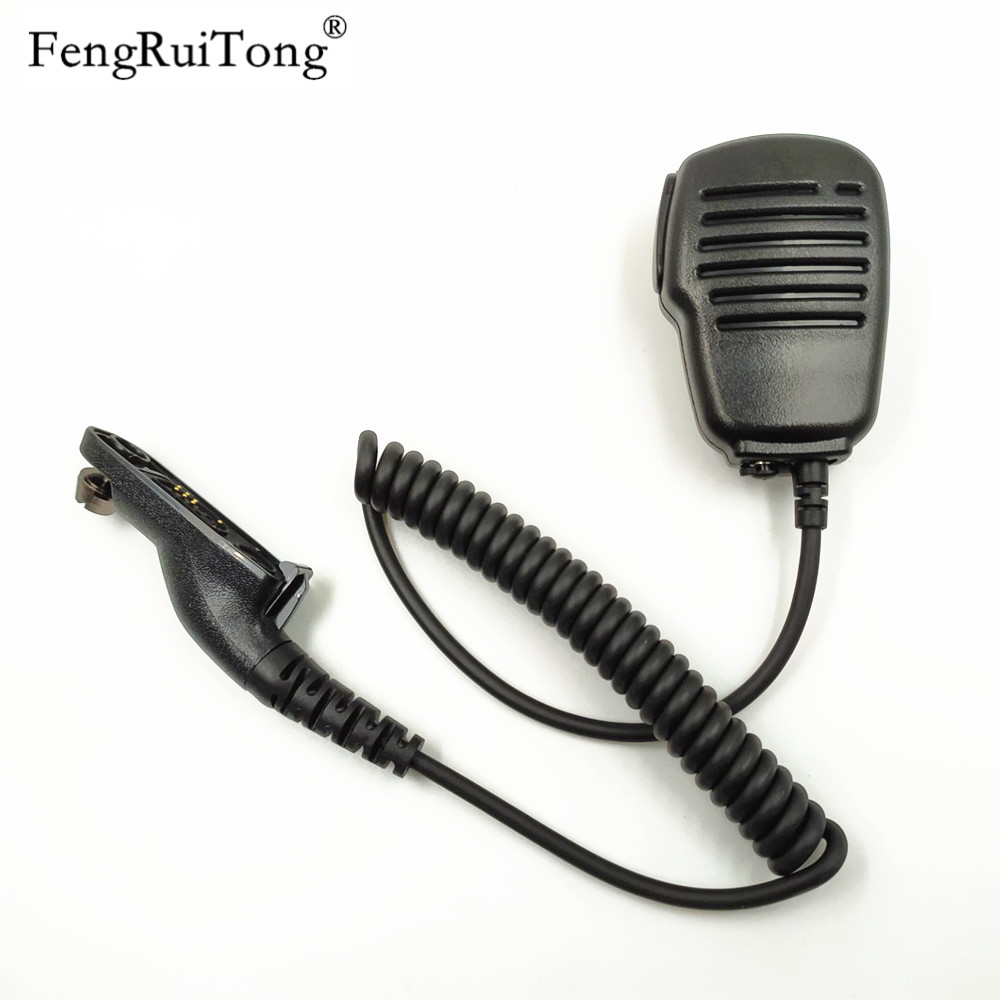 Speaker Mic With Reinforced Cable For Motorola Radio APX1000 APX4000 APX6000 APX7000 APX8000 XPR6350 XPR6550,Shoulder Microphone