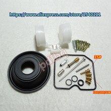 (1 set $12.5) 1989   1996 anno KPS Zephyr 400 Keihin carburatore kit di riparazione Configurare vuoto a membrana e galleggiante