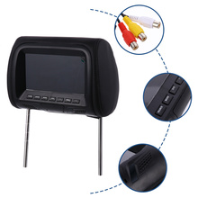 Touch Key Car Headrest Monitor Rear Seat 7 Inch Multi-media Display Screen