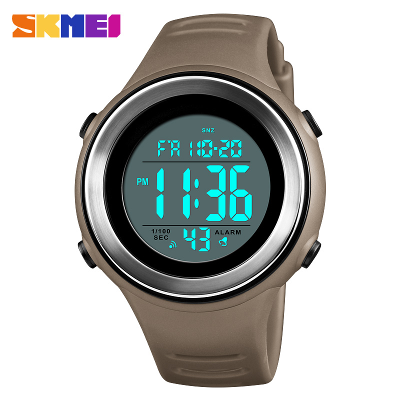 <font><b>SKMEI</b></font> Japan movement electronic Men Sports Watches Countdown stopwatch Repeater Male Clock 50M Waterproof relogio masculino <font><b>1394</b></font> image
