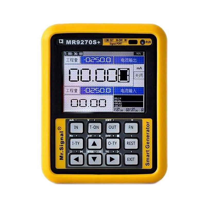 SHGO HOT-Mr9270S + 4-20Ma générateur de Signal calibrage tension de courant Pt100 Thermocouple transmetteur de pression fréquence Pid