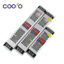 DC12V AC220V 60W 100W 150W 200W 300W transformateur d'éclairage LED adaptateur d'alimentation à découpage pour bande de LED