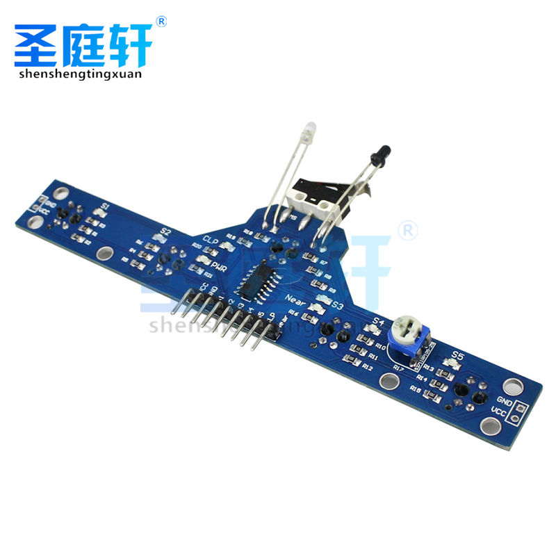 Tracking sensor Tracking module 5 functions, send routines