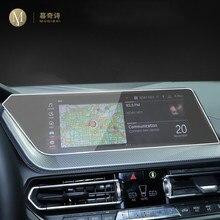 Para bmw f40 f44f45 f46 série 1 2 2019-2020 carro gps navegação película protetora tela lcd filme tpu protetor de tela anti-risco
