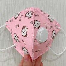 Kids N95 Mask Child Safety 5 Layer Protective Mask Anti Dust PM2.5 Antivirus Masks Kn95 Respirator Filter Valve Child Face Mask
