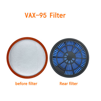 2pcs Pre-motor filter+2pcs Post-motor filter for Vax 95 Vacuum Cleaner Accessories High Quality Hepa filters 2pcs lot high quality compatible for electrolux vacuum cleaner accessories filter hepa filter zs203 zw1300 213