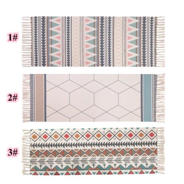 Ethnic Geometric Nordic Carpet