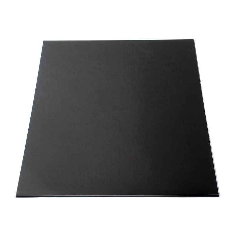 Пластиковая 3ply Гитара корпус пустой Накладка для гитары накладка лист черный
