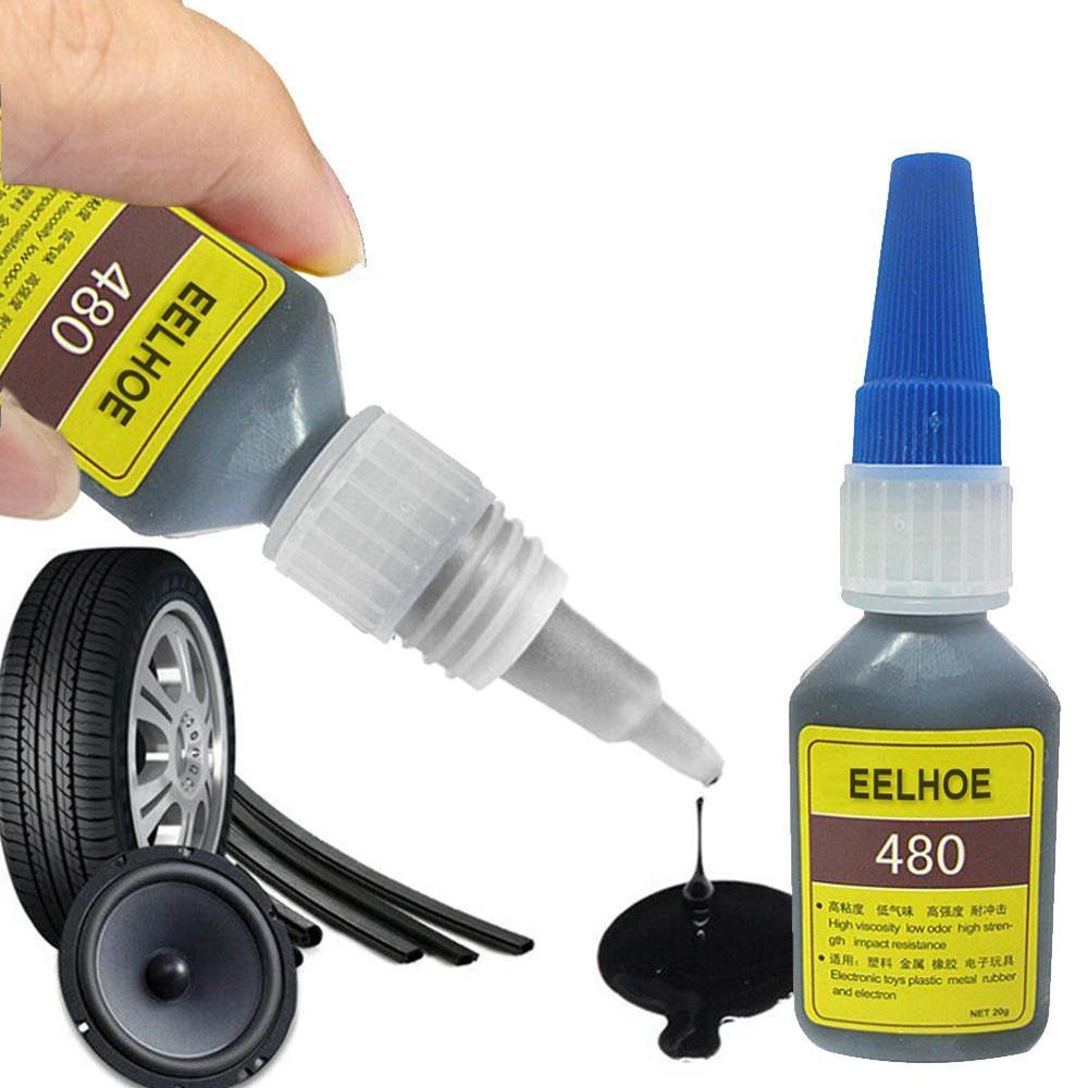 20ml Mighty Tire Repair Glue Tyre Puncture Sealant Glue Bike Car Tire Repair Patch Puncture Cement Rubber Cold Patch Solution