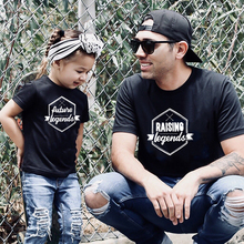 Daddy and Me Shirts Matching Dad TShirts Father Son Daughter Shirts Raising Legends Future Legend Family Look T Shirt Tops Tee