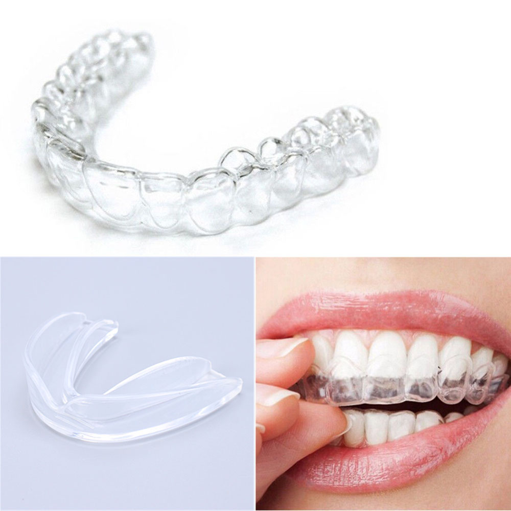 Transparent Mouth Guard Night Guard Gum Shield Mouth Trays For Bruxism Teeth Whitening Grinding Boxing Teeth Protection