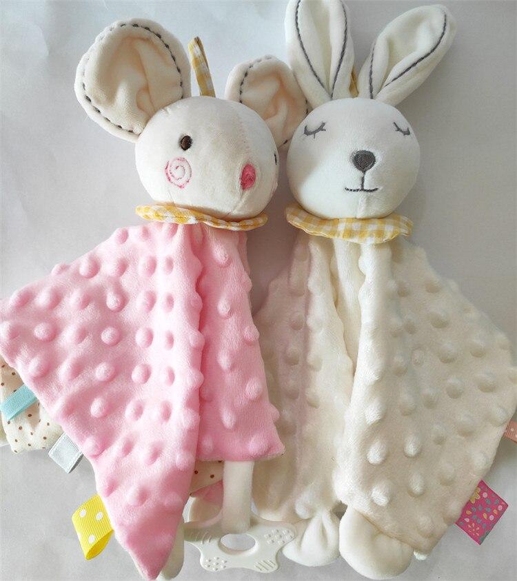 Bebê macio calmante toalha acalmar cobertor minky