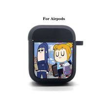Anime Pop Team Epic Cartoon Airpods Case Protective Cover Bluetooth Airpods Headphone case Earphone Soft Silicone Case