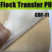 CDF-11 kremsi beyaz ısı transferi akın filmi  akın transfer vinil yapışkan konfeksiyon için transfer 50X100 CM/LOT