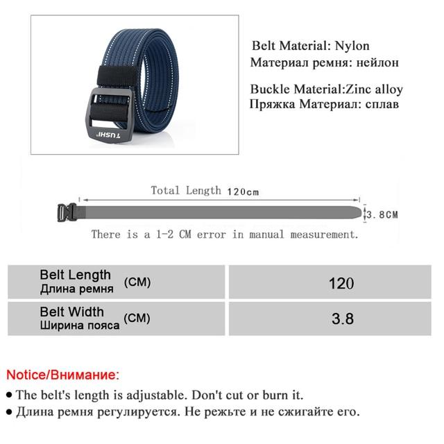 Canvas Adjustable Belt 4