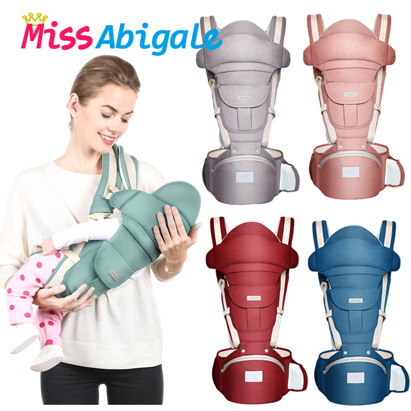 Sling-Hipseat Ergonomic-Kangaroo-Backpack Newborns-Sling Baby Carrier Kangaroos Missabigale title=